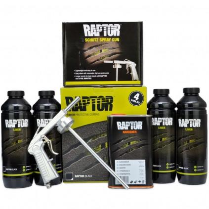 Hvit RAPTOR PAKKETILBUD 4 liters Kit