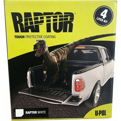RAPTOR 1LITER KIT HVIT