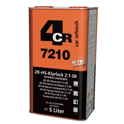 2K Akryl Klarlakk pakke 8,5 liter